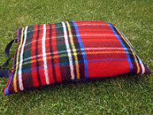 Kniekissen Tweedmill - Royal Stewart - Wolle