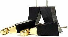 Knightsbrandnu2u 4x Massivholz Möbel Beine