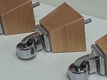 Knightsbrandnu2u 4x Natürliche Holz Möbel