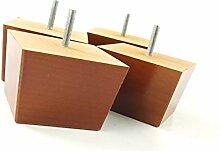 Knightsbrandnu2u Möbelfüße aus Massivem Holz,