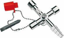 KNIPEX 00 11 04 Profi-Key für gängige Absperrsysteme 90 mm