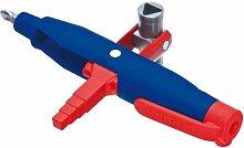 KNIPEX 00 11 08 Stift-Profi-Key für gängige Absperrsysteme 145 mm