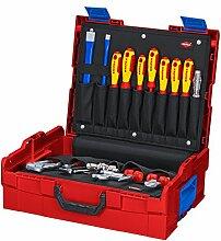 KNIPEX 00 21 21 HK S Werkzeugkoffer Sanitär 24-teilig