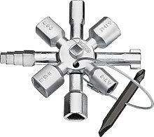 Knipex Knipex Twinkey® für gängige Schränke und Absperrsysteme 92 mm
