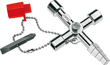 Knipex Profi-key für gängige Absperrsysteme 90 mm