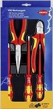 Knipex, Werkzeugkoffer + Werkzeugwagen,