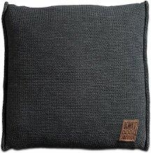 Knit Factory 131210 Dekokissen Strickkissen Uni
