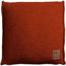 Knit Factory 131216 Dekokissen Strickkissen Uni