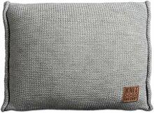 Knit Factory 131311 Dekokissen Strickkissen Uni