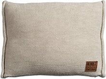 Knit Factory 131312 Dekokissen Strickkissen Uni