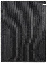 Knit Factory  Badematte, Baumwoll-Mischgewebe, Anthrazit/Schwarz, 0.48 x 0.33 cm