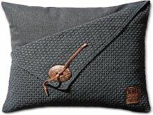 Knit Factory Dekokissen Strickkissen Reiskorn / 60