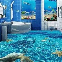 Knncch 3D Stereo Sea Starfish Bodenbelag Tapete