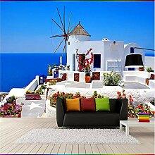 Knncch Fancy Tapete Auf Mediterranen Landschaft