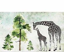 Knncch Kundenspezifische Tapete Grüner Baum Des