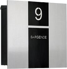 Knobloch Design Briefkasten Berlin Edelstahl