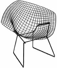 Knoll - Bertoia Diamond Outdoor-Sessel, schwarz