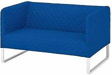 KNOPPARP IKEA 2er-Sofa in Leuchtend blau
