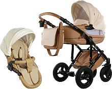 Knorr-Baby Sportime Wood Kinderwagenset Beige