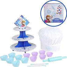 Knorrtoys Disney Frozen Eiskönigin Cupcake Set