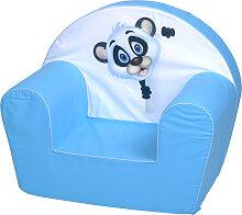 Knorrtoys Kindersessel Panda (Hellblau)