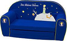Knorrtoys Kindersofa Der Kleine Prinz (Blau)