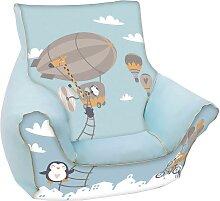 Knorrtoys Sitzsack Balloon B/T/H: 40x50x43 cm bunt