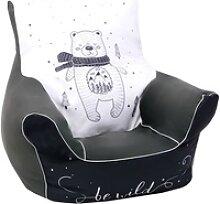 Knorrtoys® Sitzsack Bear, für Kinder; Made in