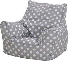 Knorrtoys® Sitzsack Dots, grey, für Kinder; Made