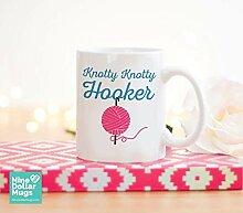 Knotty Knotty Hooker Tasse, Strickbecher,