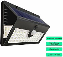 knowledgi Solar-LED-Leuchten, Solarbetriebene