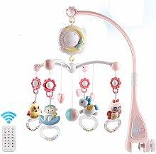 Knowooh Baby Mobile mit Spieluhr, Nachtlicht und