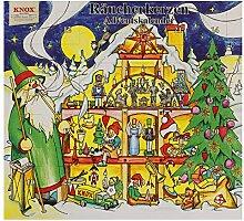 Knox Räucherkerzen Adventskalender mit 24