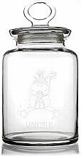 Knuddelhorn® Einhorn Glasdose mit Gravur Ihres