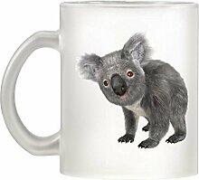 Koala Bild Design Milchglas Becher