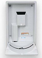 Koala Klappbare Wickelstation KB-101 Vertikal MICROBAN® Hygieneschutz 3 Varianten, Farbe:Granite