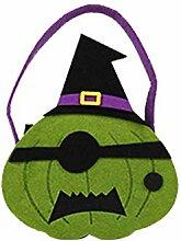 Kobay-Halloween Halloween Leaf Style Candy Bag