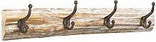 Kobolo Hakenleiste Garderobe Vintage Holz und