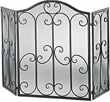 Kobolo Kaminschutzgitter Funkenschutz aus Metall