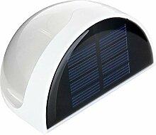 KOBWA 6 LED Solarleuchte Wandleuchten Wasserdicht Gartenleuchte, Solar Außenleuchte, Wandleuchte FürGarten, Zaun, Garten, Garten Deko, Garage, Treppe Usw.