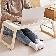 KOBWA Folding Laptop Tischständer für Bett, Bett