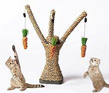 KOBWA Kratzbaum für Katzen und Kätzchen, 100%