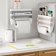 KOBWA Küchenspender für Gewürze, Wandmontage,