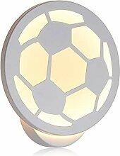 KOBWA LED Wandlampe Modern Innen 10W Weiss