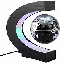 KOBWA Schwebender Deko Globus Weltkugel mit LED Im