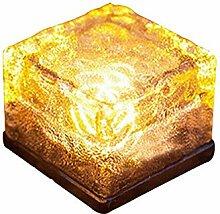 KOBWA Wasserdicht Solar Ice Brick LED Landschaft