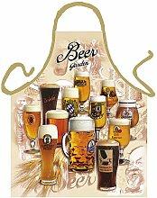 Koch/Grill Schürze Biersorten