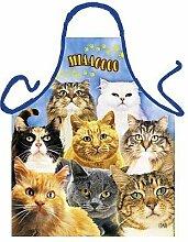 Koch/Grill Schürze Katzen