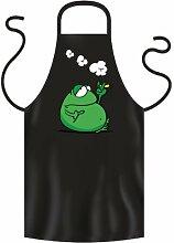 Koch/Grillschürze - - - FROSCH SMOKE - - - Latzschürzen für Grill und Küche. Top lustiges Geschenk und Mitbringsel