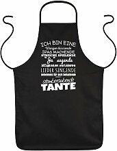 Koch-Schürze Tante - Sprüche Grill-Schürze Frau